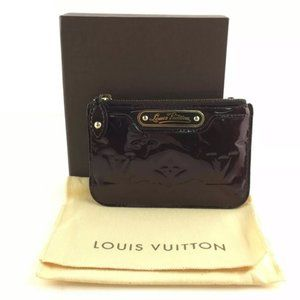 authentic Louis Vuittonkey card holder